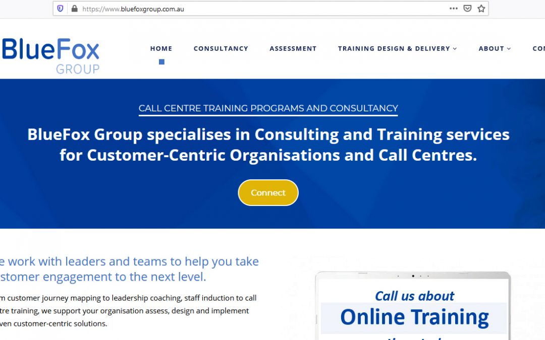 Corporate Website – BlueFox Group